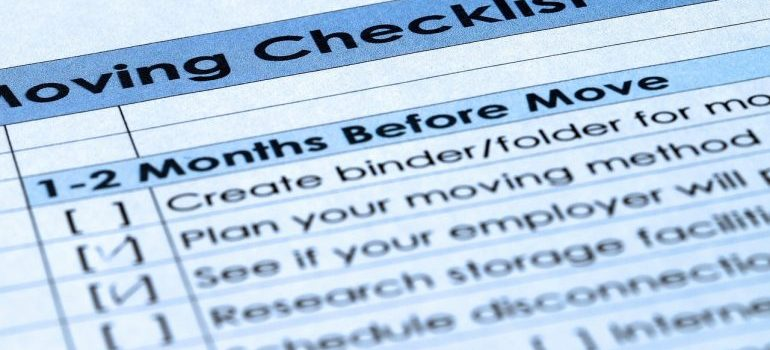 checklist to boost your relocation budget