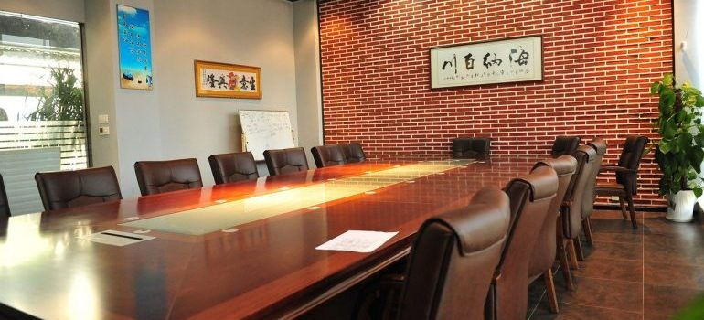 A conference room for movers Orleans Ontario to relocate.