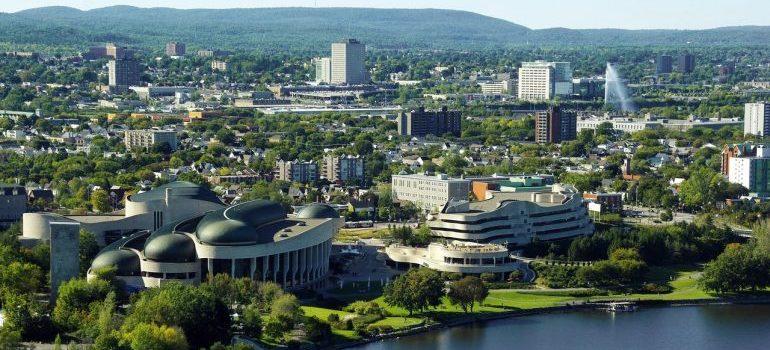 the city of Ottawa