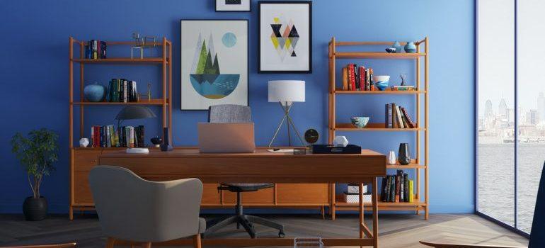 modernly designed office