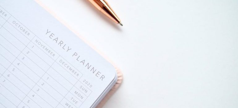 a planner to avoid delays on moving day