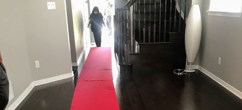 padded floor